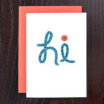 Happy Eels Greeting Card | Orange Tree Project