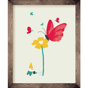 Butterfly Friends 8 x 10 Print | Orange Tree Project