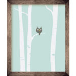 Owl in Tree 8 x 10 Print | Orange Tree Project