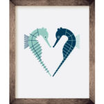Seahorse Heart 8 x 10 Print | Orange Tree Project