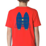 Jetpack Boy's Tee, Youth Size | Orange Tree Project