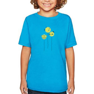 Puffer Fish Balloons Boy's Tee, Youth Size | Orange Tree Project