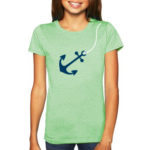 Anchor Girl's Tee, Youth Size | Orange Tree Project