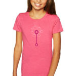 Bubble Wand Girl's Tee, Youth Size | Orange Tree Project