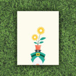 Head Over Heels, Gnome, Flower, Potted Plant, Garden | Orange Tree Project