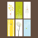 Orange Tree Card Set of 6 | Orange Tree Project