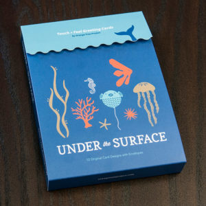 Under The Surface Box Set of 12 Greeting Cards | Orange Tree Project