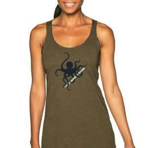 Octopus with Pen Racerback Tank | Orange Tree Project